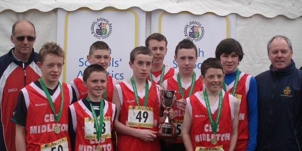 All-Ireland Minor Boys Cross Country Champions - 2012