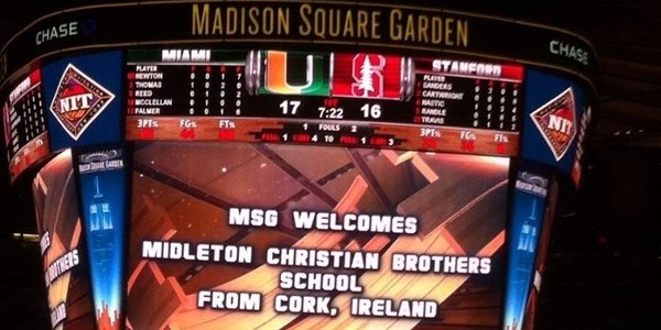 Madison Sq Garden welcomes Midleton CBS