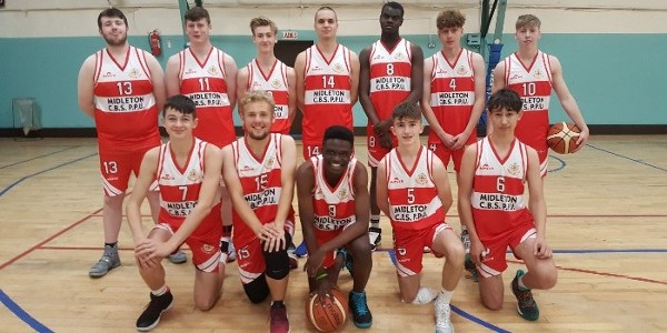 U19 Basketball Team - First Competitive Season - 2018