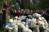 Transition Yr lads assist in Midleton Tidy Towns