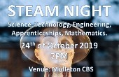 STEAM Night - Science, Technology, Engineering, Apprenticeships and Mathematics