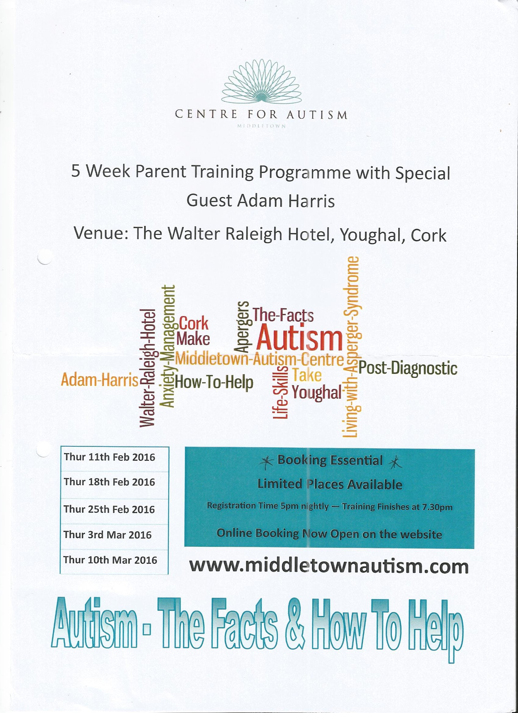 Midleton CBS Autism The Facts & How To Help