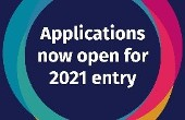 Applications for September 2021 are now open.