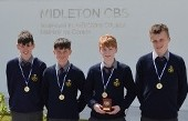 2nd/3rd Year team All-Ireland Orienteering Champions