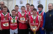 Individual and Team successes at Schools X-Country finals