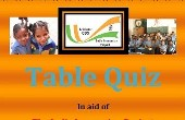 Table Quiz in Aid of India Immersion Fund