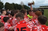 First Ever Rugby Trophy for Midleton CBS
