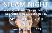 STEAM Night - Speakers and Exhibitors