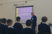 Wheatfield Prison Governor - Presentation to 6th Years